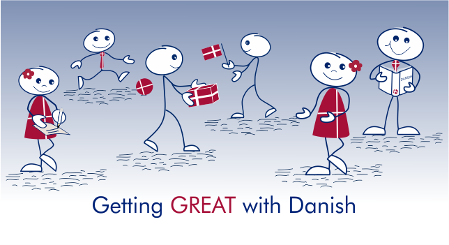 getting great with Danish